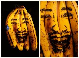 Kazuki Guzman banana art (źródło:http://www.ownzee.com/post/2071/kazuki-guzman-banana-art)